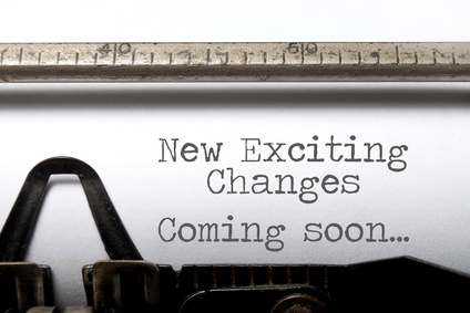 Exciting changes motivational saying