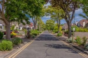 Pleasant Village Road | Stock image